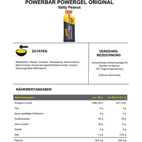 PowerBar PowerGel Original Box 24 x 41g, Salty Peanut